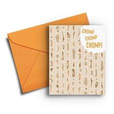 Matzah Passover Card