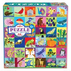 Portraits of Nature Kids Puzzle - 64pc