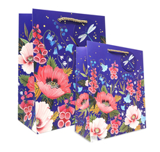 Dragonfly Blooms Gift Bag