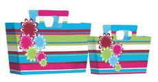 Merida Flower Stripe Large Bag