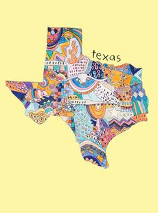Doodle: Texas