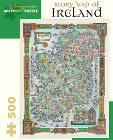 Story Map of Ireland Puzzle - 500pc