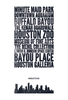 Cityprint: Houston