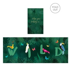 Wild Birthday Expanding Card