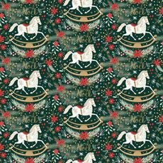 Rocking Horse Noel Wrap