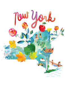 Watercolor USA: New York