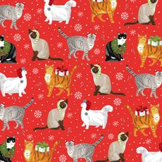 Christmas Cats Wrap