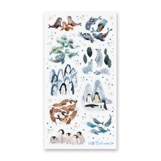 Adorable Arctic Critters Stickers