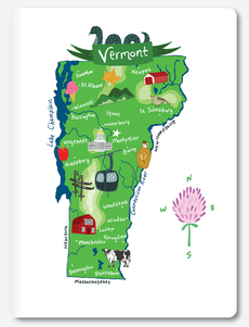 Hello: Vermont Notebook