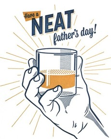 Neat Father's Day Letterpress Card