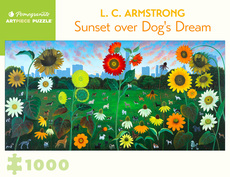 Sunset Over Dog's Dream Puzzle - 1000pc
