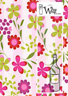 Jardina Pink Wine Wrap