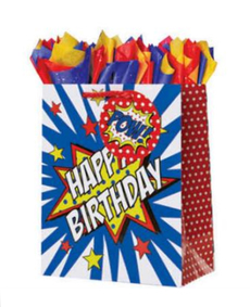 Pow Zap Birthday Gift Bag