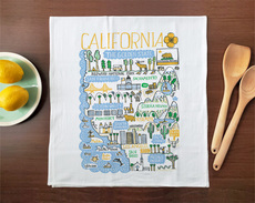 Statescapes: California Towel