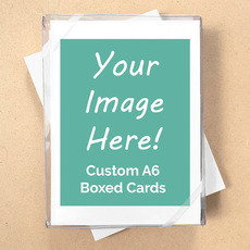 Your Design Here! Custom A6 Boxed Notecards