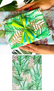 Tropical Plants Wrap