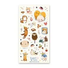 Doggy Days Stickers