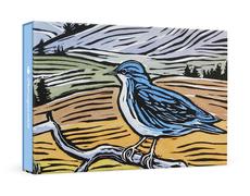 Hashimoto Blubird Boxed Notecards
