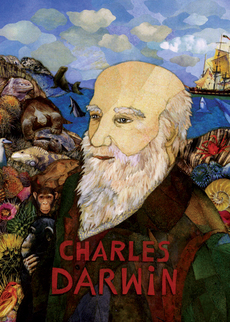 Charles Darwin Collage