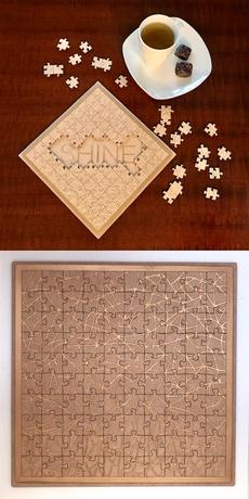 Natural Fractals Handmade Puzzle