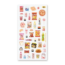 Japanese Pixel Snack Stickers