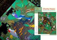 Charley Harper - Woodland Wonders 1000pc Puzzle