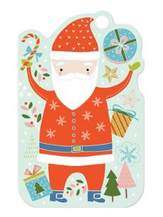 Santa Gift Tag Pack