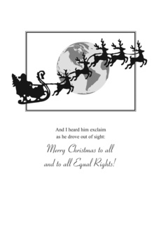 Santa Equal Rights Holiday