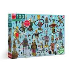 Upcycled Robots Kids Puzzle - 100pc