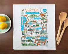 Statescapes: Vermont Towel