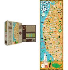 Pacific Crest Trail Puzzle - 750pc