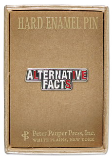 Alternative Facts Enamel Pin