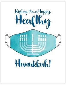 Happy Hanukkah Mask