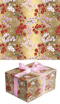 Gold Blossom Wrap