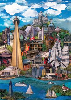 Toronto Cityscape Blank