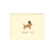 Fancy Dog Thank You Notes Box