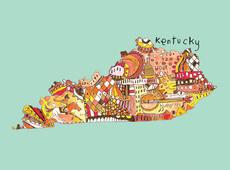 Doodle: Kentucky