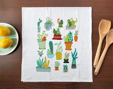 Kitchen: Cacti Towel