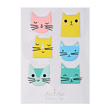 Kitty Cat Puffy Stickers