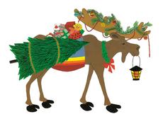 Merry Kris Moose
