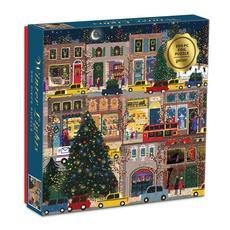 Winter Lights Foil Puzzle - 500pc
