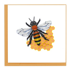 Bee Quilled Card