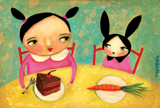Bunnies Dessert Mini