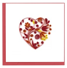 Heart Quilled Card